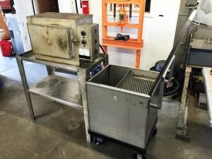 Heat Treat Furnance / Quench Tank